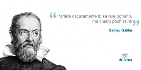 Galileo Galilei docet
