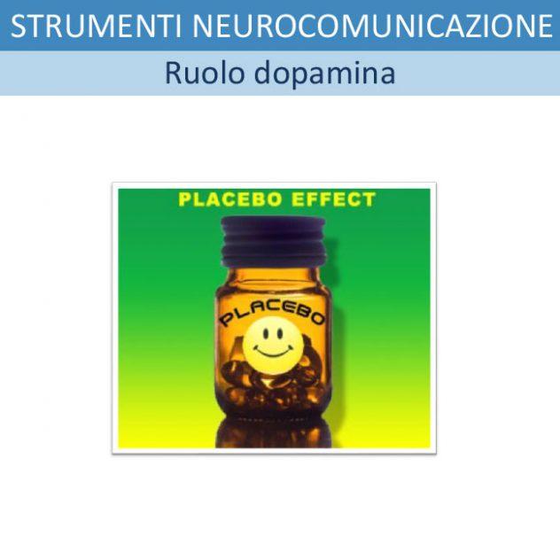 Strumenti di NeuroComunicazione: 5 - LA DOPAMINA E IL BELIEF EFFECT