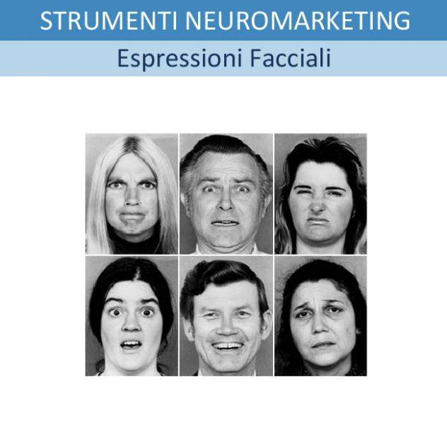 Strumenti di Neuromarketing: 6 - LE 6 ESPRESSIONI FACCIALI/EMOZIONI UNIVERSALI E IL METODO FACS