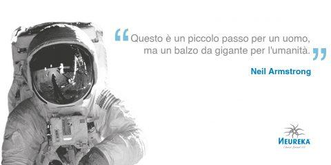 Oggi, Neil Armstrong, metteva per la prima volta piede sulla nostra luna.