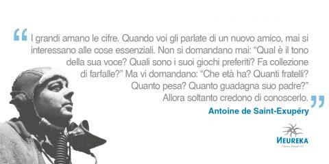 Riflessione di Antoine de Saint Exupery: cosa è importante sapere quando ci si conosce?