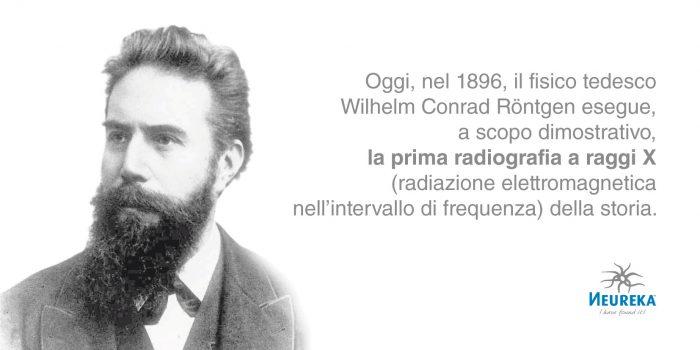 ricorre oggi l'anniversario della prima radiografia a raggi X