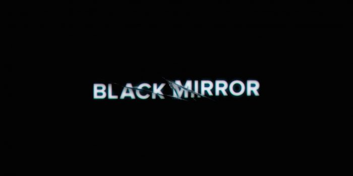 "Logo della serie Netflix ""Black Mirror"""