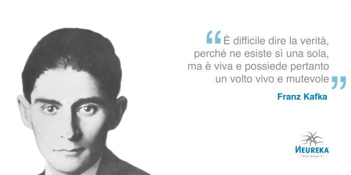 Scrittore boemo di lingua tedesca, uno dei più grandi autori del Novecento: Franz Kafka
