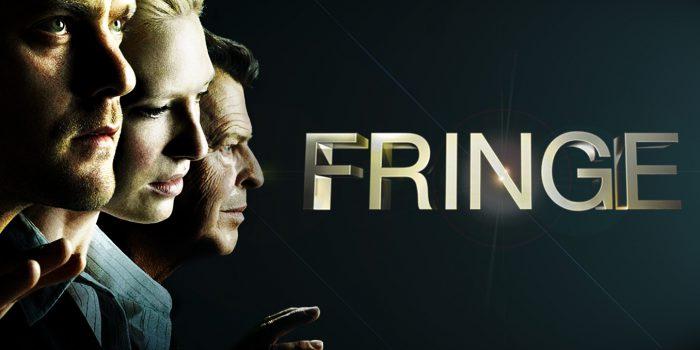 Protagonisti e logo della serie FRINGE incentrata sulle pseudoscienze