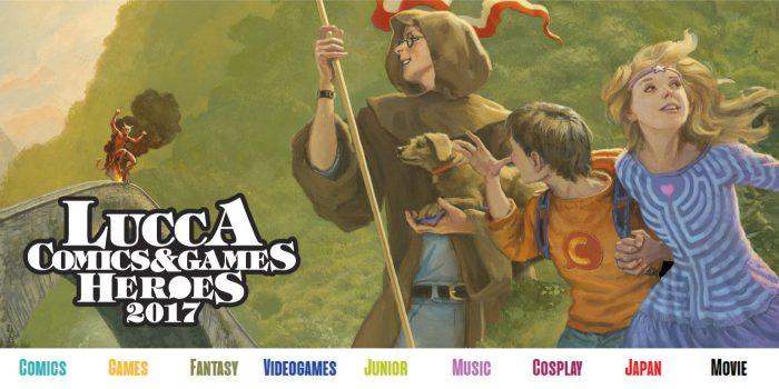 Lucca Comics & Games Heroes 2017 - Festival internazionale del fumetto, cinema d'animazione, illustrazione e gioco.