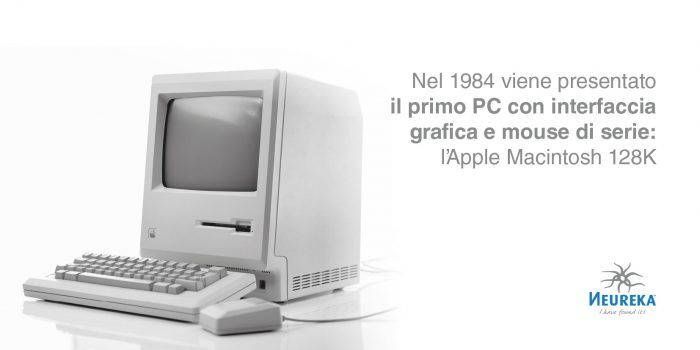 1984, il lancio dell'Apple Macintosh 128K