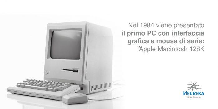 1984, il lancio dell'Apple Macintosh 128K