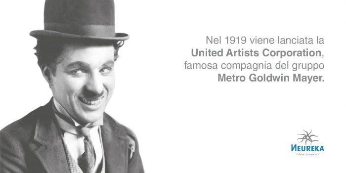 Chaplin e la United Artists Corporation compagnia del gruppo Metro Goldwin Mayer