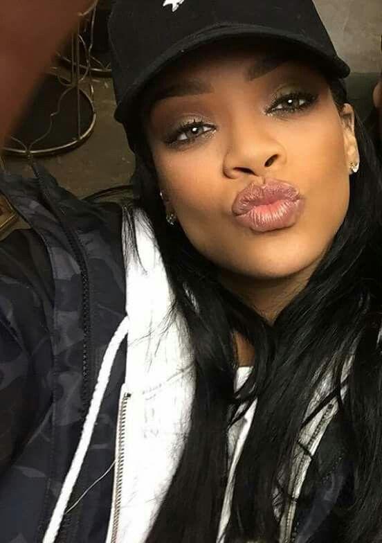 Selfie di Rihanna