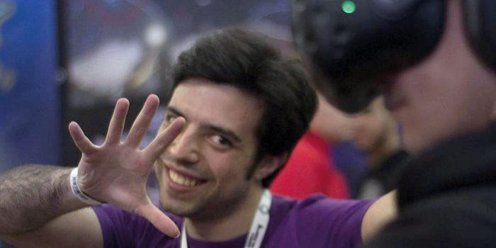 Fabio Mosca e la Tecnologia VR in azione
