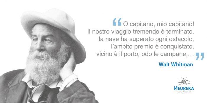 Walt Whitman Insieme a Emily Dickinson, è considerato uno dei poeti più importanti d'America.