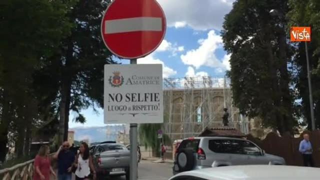 Amatrice no selfie