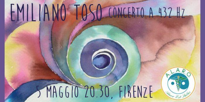 La Danza della Vita - concerto di Emiliano Toso a 432 Hz.