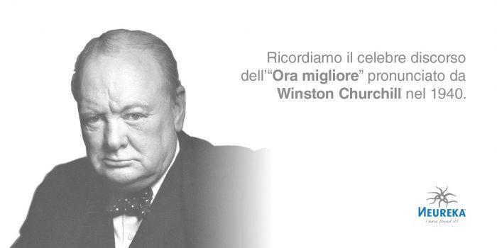 """Ricordiamo il celebre discorso dell'""""Ora migliore"""" pronunciato da Winston Churchill nel 1940"""