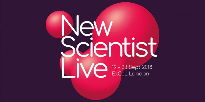 Dal 19 al 23 settembre a Londra si svolgerà il New Scientist Live 2018 - Festival of ideas and discovery