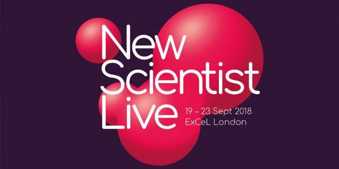 Dal 19 al 23 settembre a Londra si svolgerà il New Scientist Live 2018 - Festival of ideas and discovery