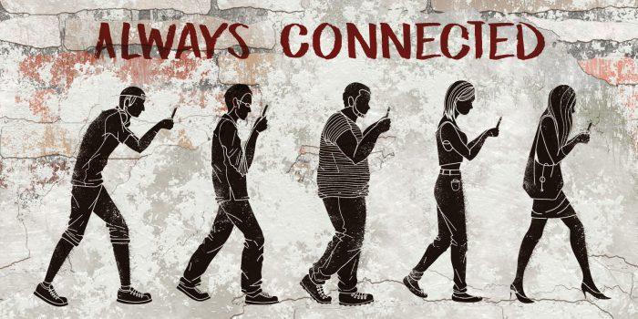 «Dipendenza da smartphone: il paradosso della solitudine»