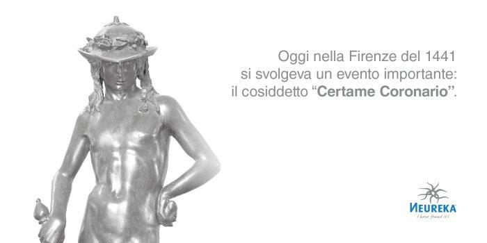 """Oggi nella Firenze del 1441 si svolgeva un evento importante: il cosiddetto """" Certame Coronario """""""