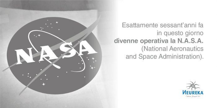 Esattamente sessant'anni fa in questo giorno divenne operativa la N.A.S.A. (National Aeronautics and Space Administration)