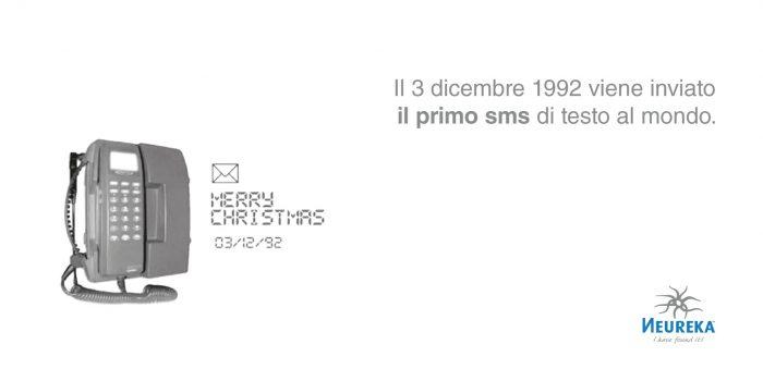 Il 3 dicembre 1992 viene inviato il primo sms di testo al mondo