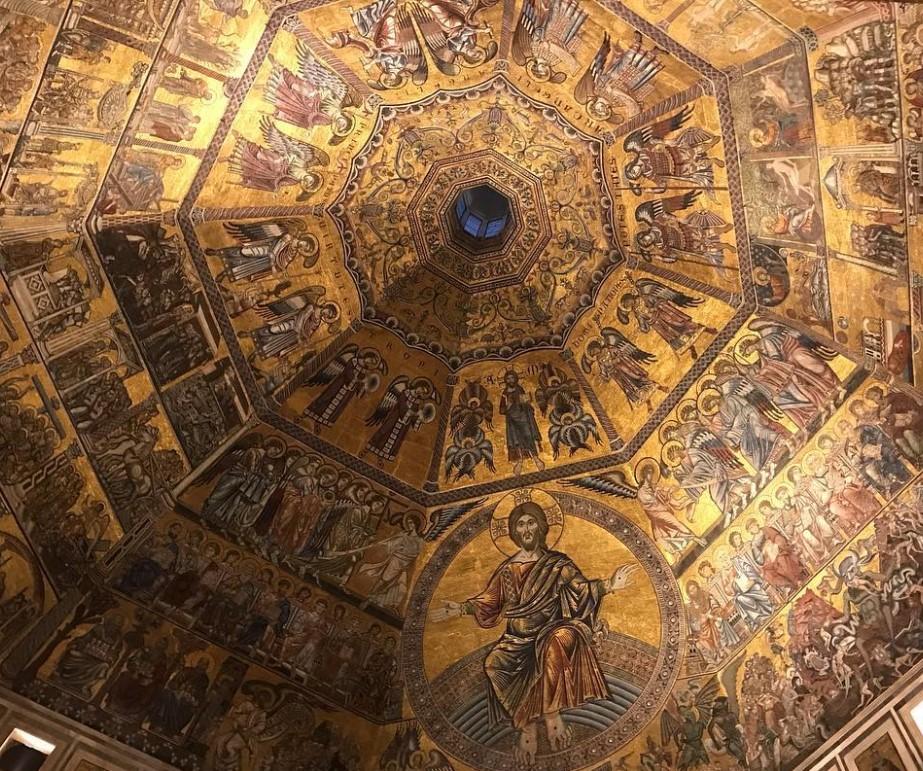 Duomo di Firenze - interni: volta