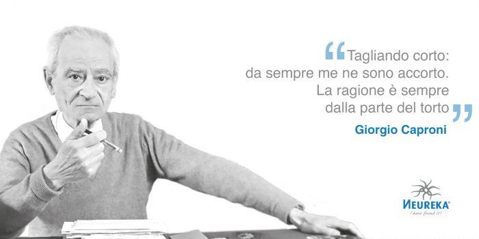 Ricorre oggi l'anniversario di nascita di uno dei più importanti poeti del Novecento italiano: Giorgio Caproni