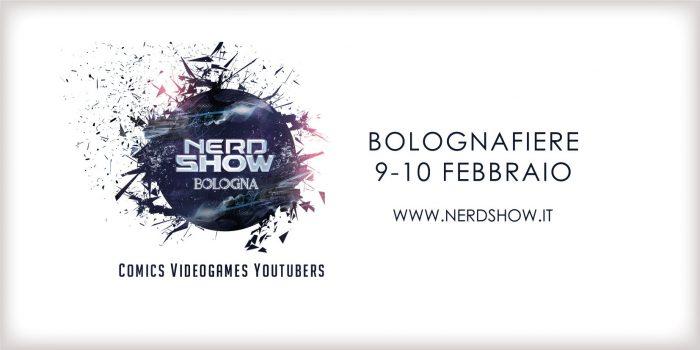 Torna anche quest'anno NerdShow - Bologna, l'evento dedicato alla cultura nerd in ogni sua forma!