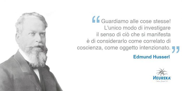 Ricordiamo il grande matematico e filosofo Edmund Husserl, padre del movimento fenomenologico del XX secolo