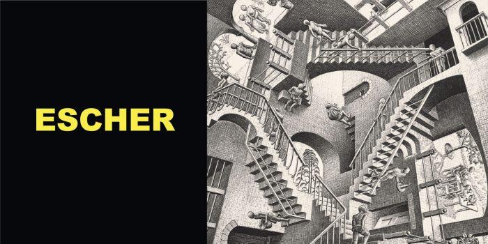 Escher a Napoli fino al 22 aprile presso il Palazzo delle Arti a Napoli