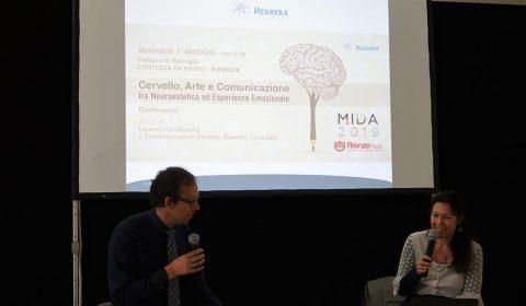 Carmen Cini (Responsabile Scientifico Neureka) e Cristian Ducceschi (Strategic Marketing Consultant) parlano si NeuroEstetica