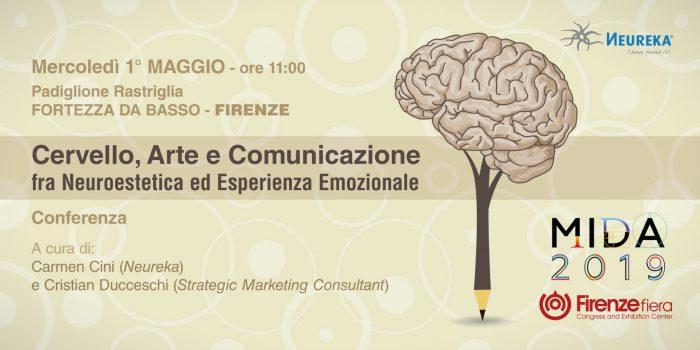 Cervello, Arte e Comunicazione fra Neuroestetica ed Esperienza Emozionale - 1° maggio 2019 - Fortezza da basso - Firenze