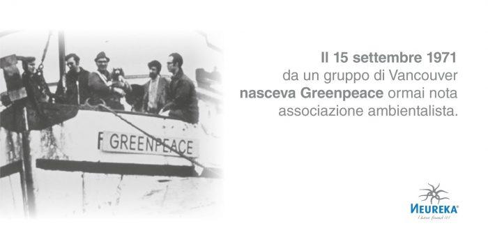 Il 15 settembre 1971 da un gruppo di Vancouver nasceva Greenpeace ormai nota associazione ambientalista