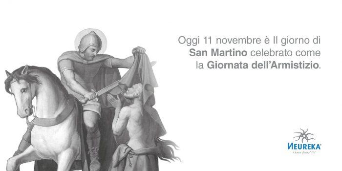 Oggi 11 novembre è Il giorno di San Martino celebrato come la Giornata dell'Armistizio