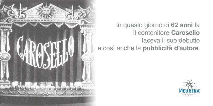 In questo giorno di 62 anni fa il contenitore Carosello faceva il suo debutto e così anche la pubblicità d'autore