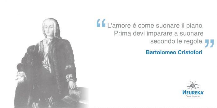Oggi ricordiamo l'uomo che ha inventato lo strumento musicale più popolare al mondo (il pianoforte): Bartolomeo Cristofori