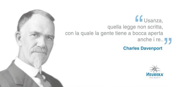 Oggi nel 1866 nasceva Charles Davenport noto biologo e eugenetista americano del XX sec