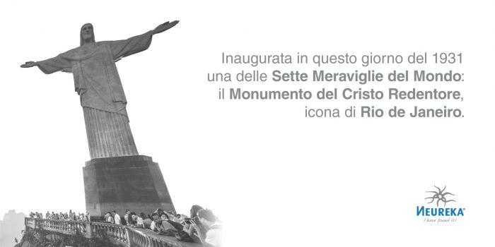 Inaugurata in questo giorno del 1931 Una delle Sette Meraviglie del Mondo: il Monumento del Cristo Redentore, icona di Rio de Janeiro