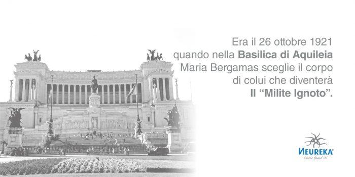 """Era il 26 ottobre 1921 quando nella Basilica di Aquileia Maria Bergamas sceglie il corpo di colui che diventerà Il """"Milite Ignoto"""""""