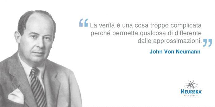 Ricordiamo John Von Neumann uno dei più grandi matematici della storia moderna inventore poliedrico e poliglotta ungherese-americano