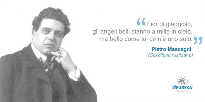 OGGI nasceva Pietro Mascagni, musicista di successo, compositore di musiche per il cinema e direttore d'orchestra italiano