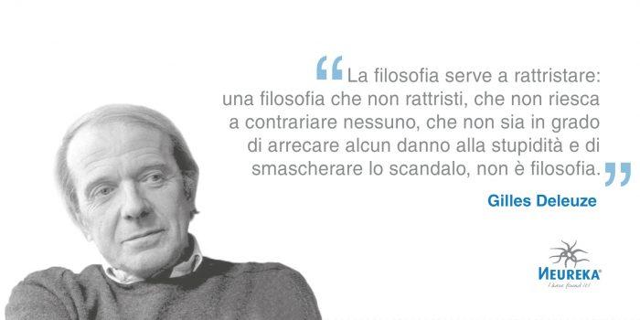 Il 18 gennaio 1925 nasceva UNO dei Più Importanti FILOSOFI FRANCESI della seconda metà del XX secolo: Gilles Deleuze