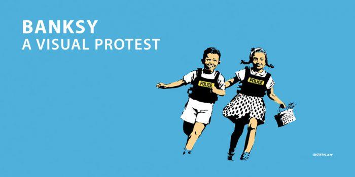 A Roma fino all'11 aprile 2021 ti aspetta BANKSY A VISUAL PROTEST, una grande mostra dedicata all'ARTISTA E WRITER INGLESE