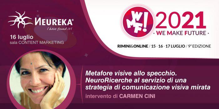 Il prossimo 16 luglio Neureka al Web Marketing Festival