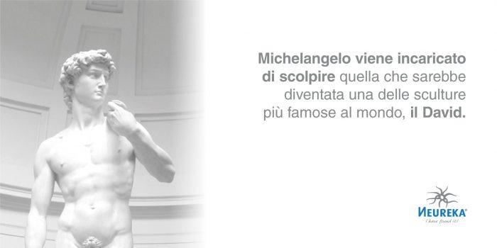 Michelangelo viene Incaricato di Scolpire quella che sarebbe diventata una delle Sculture Più Famose al Mondo, il DAVID