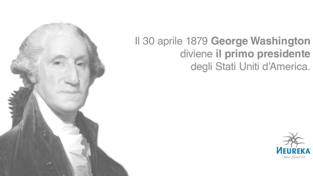 """""""Cammino su un terreno inesplorato. Non c'è quasi nessuna parte della mia condotta che non possa in futuro essere tracciata in precedenti."""" George Washington, il primo presidente degli Stati Uniti d'America"""