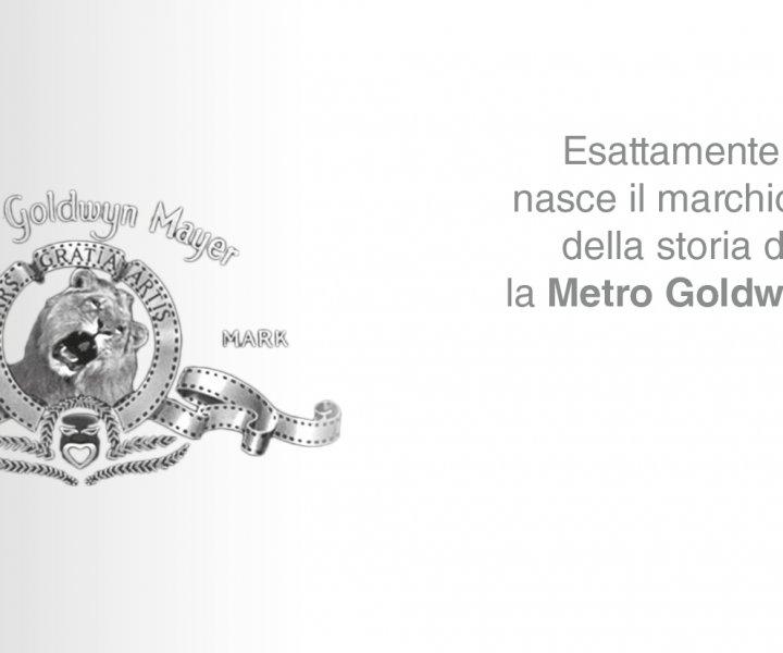 L'iconico logo della Metro Goldwyn Mayer con il leone ruggente.